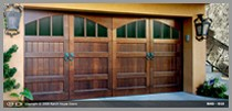 2 Port Ranch Wood Doors