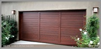 Wood Flat Garage Door